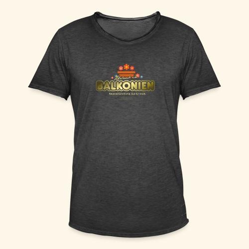 LOHAS T Shirt Balkonien - Männer Vintage T-Shirt