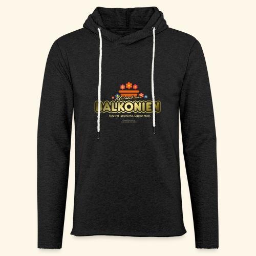 LOHAS T Shirt Balkonien - Leichtes Kapuzensweatshirt Unisex