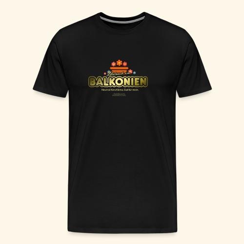 LOHAS T Shirt Balkonien - Männer Premium T-Shirt