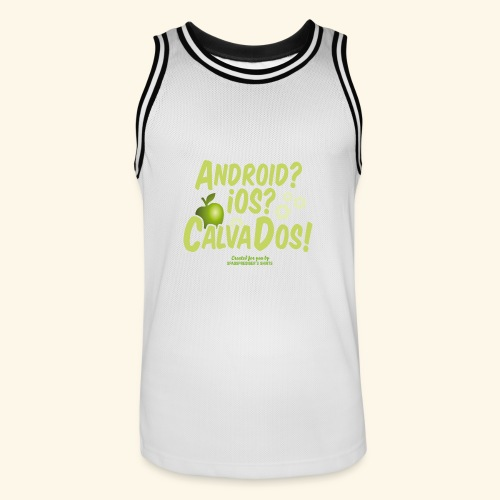 Calvados T Shirt - Männer Basketball-Trikot