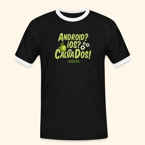 Calvados T Shirt - Männer Kontrast-T-Shirt