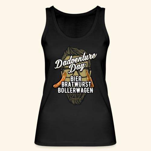 Vatertag T Shirt Dadventure Day - Frauen Bio Tank Top von Stanley & Stella