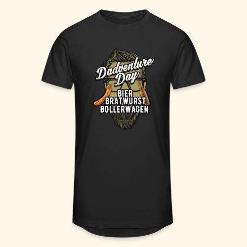 Vatertag T Shirt Dadventure Day - Männer Urban Longshirt