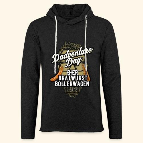 Vatertag T Shirt Dadventure Day - Leichtes Kapuzensweatshirt Unisex