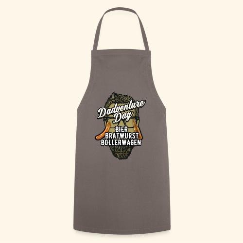 Vatertag T Shirt Dadventure Day - Kochschürze