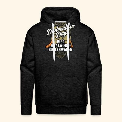Vatertag T Shirt Dadventure Day - Männer Premium Hoodie