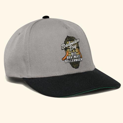 Vatertag T Shirt Dadventure Day - Snapback Cap