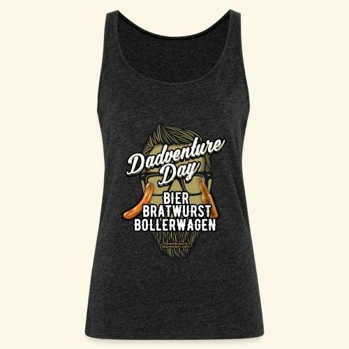 Vatertag T Shirt Dadventure Day - Frauen Premium Tank Top