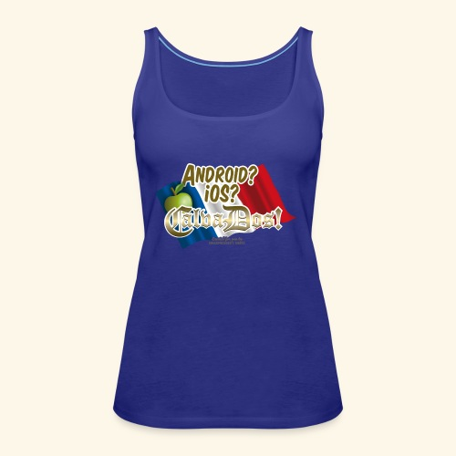 Fun T Shirt Betriebssystem Calvados - Frauen Premium Tank Top