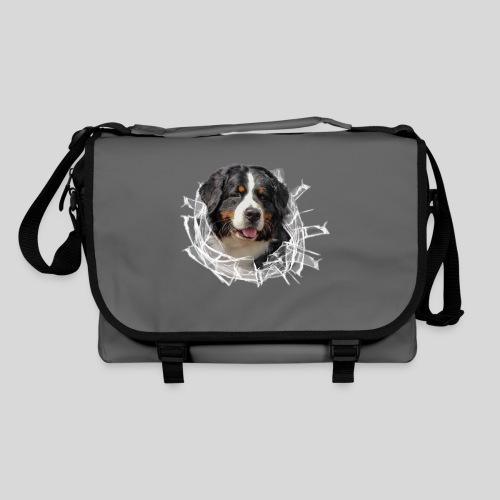Berner Sennen Hund im *Glas-Loch* - Umhängetasche