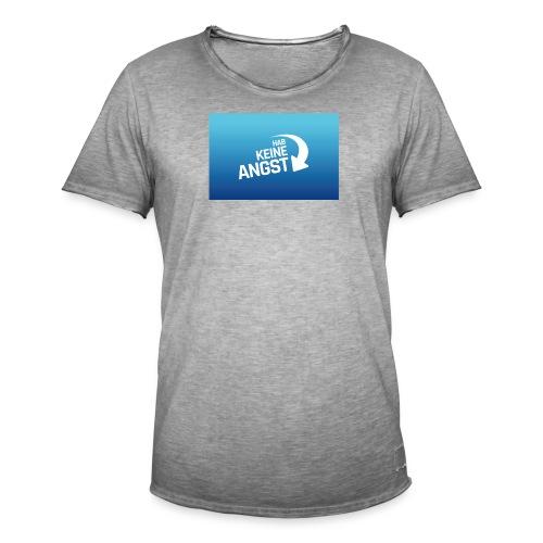 Hab keine Angst! - Männer Vintage T-Shirt