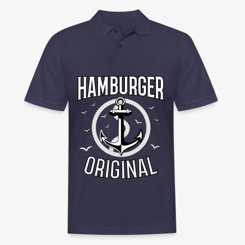 95 Hamburger Original Anker Seil - Männer Poloshirt
