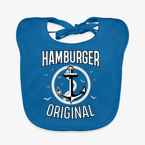 95 Hamburger Original Anker Seil - Baby Bio-Lätzchen