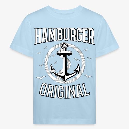 95 Hamburger Original Anker Seil - Kinder Bio-T-Shirt