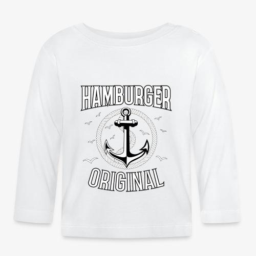 95 Hamburger Original Anker Seil - Baby Langarmshirt