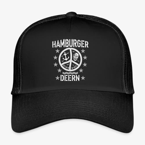 97 Hamburger Deern Peace Friedenszeichen Seil - Trucker Cap