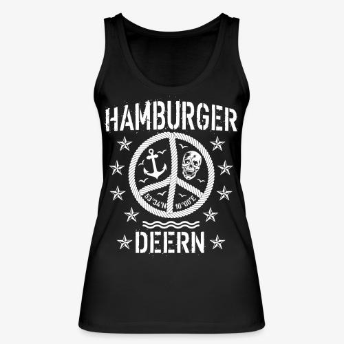 97 Hamburger Deern Peace Friedenszeichen Seil - Frauen Bio Tank Top von Stanley & Stella