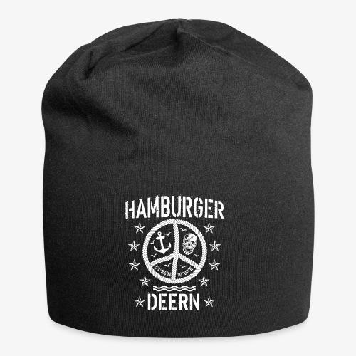 97 Hamburger Deern Peace Friedenszeichen Seil - Jersey-Beanie