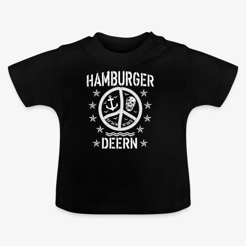 97 Hamburger Deern Peace Friedenszeichen Seil - Baby T-Shirt
