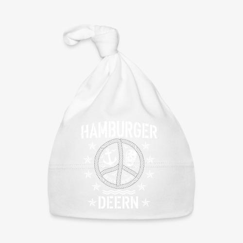 97 Hamburger Deern Peace Friedenszeichen Seil - Baby Mütze