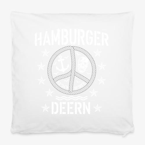 97 Hamburger Deern Peace Friedenszeichen Seil - Kissenbezug 40 x 40 cm