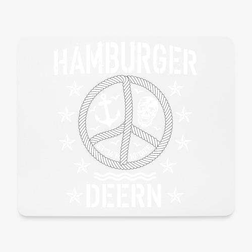 97 Hamburger Deern Peace Friedenszeichen Seil - Mousepad (Querformat)