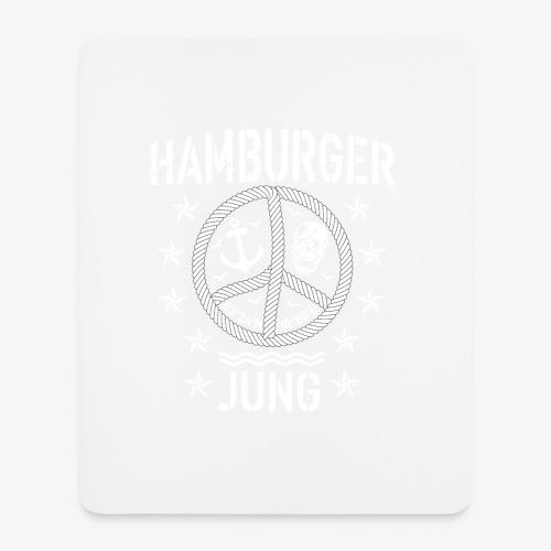 96 Hamburger Jung Peace Friedenszeichen Seil - Mousepad (Hochformat)