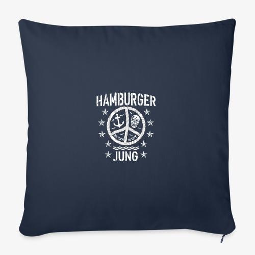 96 Hamburger Jung Peace Friedenszeichen Seil - Sofakissenbezug 44 x 44 cm