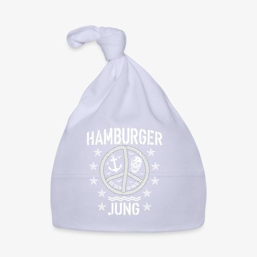 96 Hamburger Jung Peace Friedenszeichen Seil - Baby Mütze