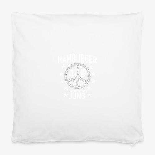 96 Hamburger Jung Peace Friedenszeichen Seil - Kissenbezug 40 x 40 cm