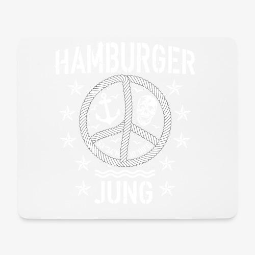 96 Hamburger Jung Peace Friedenszeichen Seil - Mousepad (Querformat)