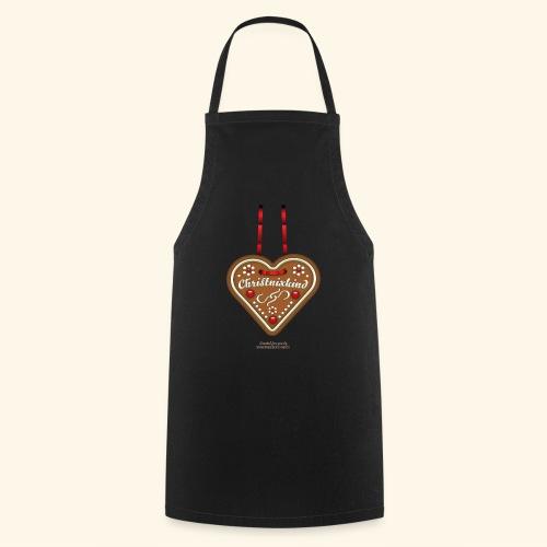 Weihnachts T Shirt Christnixkind Lebkuchenherz - Kochschürze