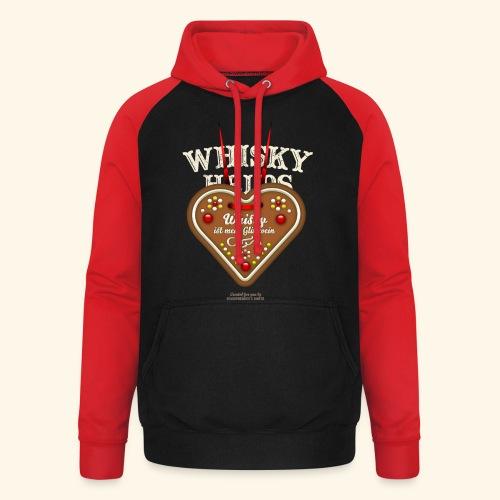 Whisky T Shirt Glühwein & Lebkuchenherz - Unisex Baseball Hoodie