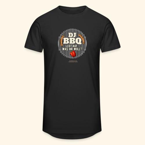Lustiges Grill T Shirt Spruch DJ BBQ  - Männer Urban Longshirt