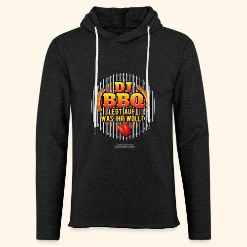 Grill T Shirt DJ BBQ - Leichtes Kapuzensweatshirt Unisex