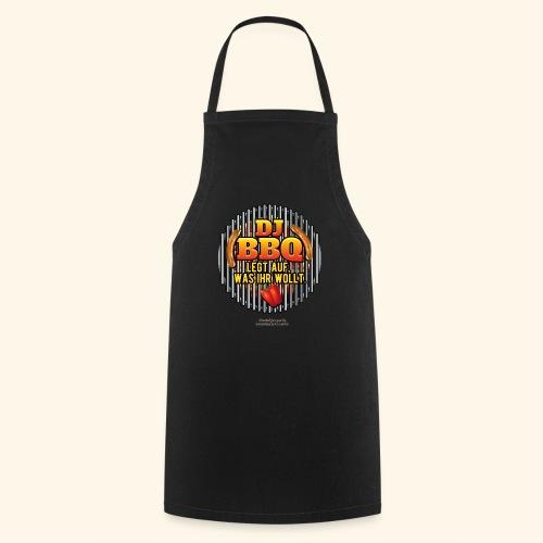 Grill T Shirt DJ BBQ - Kochschürze