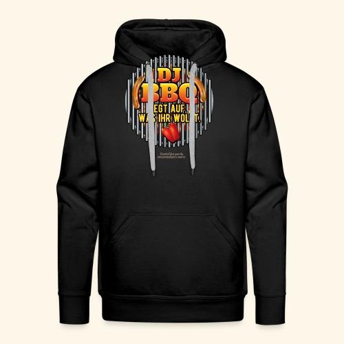 Grill T Shirt DJ BBQ - Männer Premium Hoodie