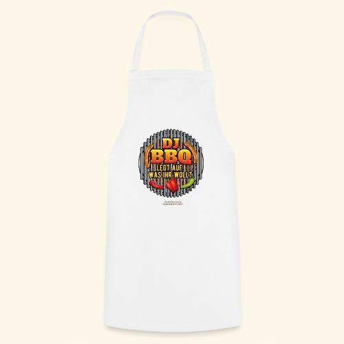 Grill T Shirt lustiger Spruch DJ BBQ - Kochschürze