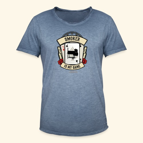 Grill T Shirt Smoker | witziger Spruch - Männer Vintage T-Shirt