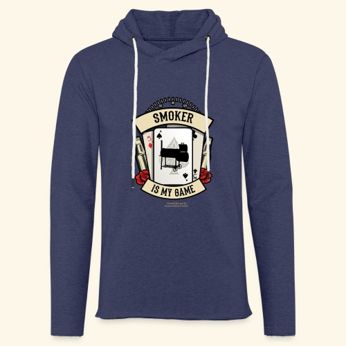 Grill T Shirt Smoker | witziger Spruch - Leichtes Kapuzensweatshirt Unisex
