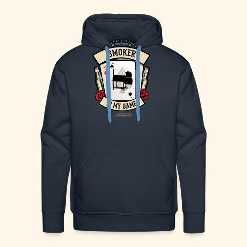 Grill T Shirt Smoker | witziger Spruch - Männer Premium Hoodie