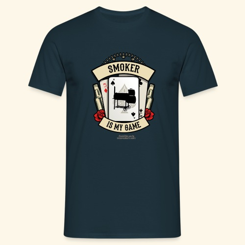 Grill T Shirt Smoker | witziger Spruch - Männer T-Shirt