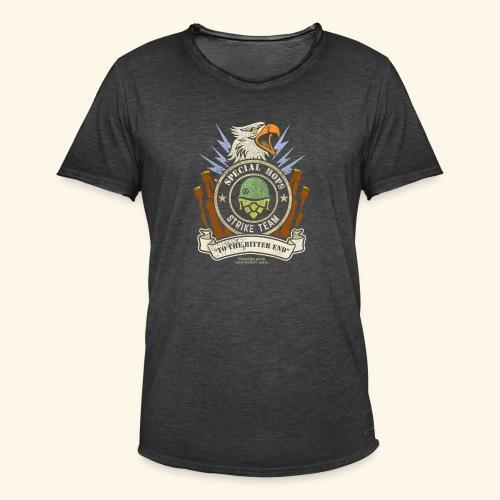 Craft Beer Fan T Shirt Special Hops Strike Team - Männer Vintage T-Shirt
