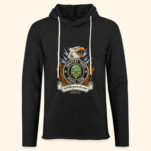 Craft Beer Fan T Shirt Special Hops Strike Team - Leichtes Kapuzensweatshirt Unisex