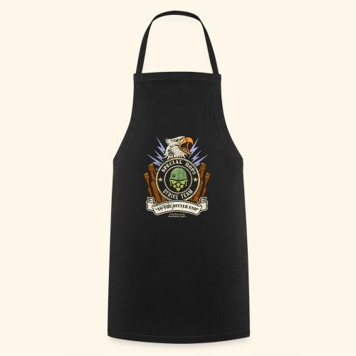 Craft Beer Fan T Shirt Special Hops Strike Team - Kochschürze