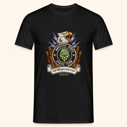 Craft Beer Fan T Shirt Special Hops Strike Team - Männer T-Shirt