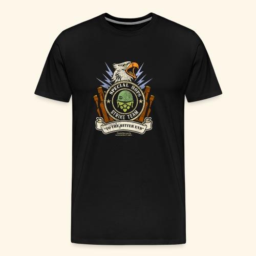 Craft Beer Fan T Shirt Special Hops Strike Team - Männer Premium T-Shirt