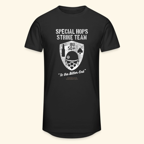 Craft Beer Fan T Shirt Special Hops Strike Team - Männer Urban Longshirt