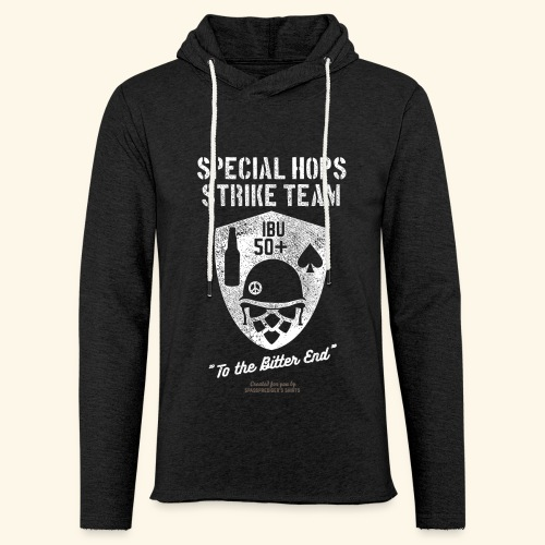 Craft Beer Fan T Shirt Special Hops Strike Team - Leichtes Kapuzensweatshirt Unisex