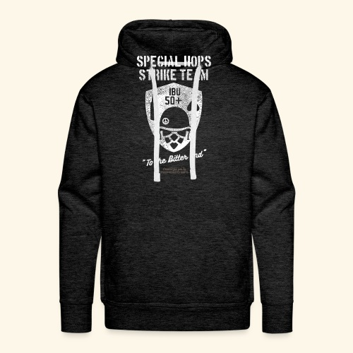 Craft Beer Fan T Shirt Special Hops Strike Team - Männer Premium Hoodie